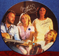 "ABBA ""Slipping Through My Fingers"" 1980 Japan ONLY PROMO PIC DISC COKE w/ps"