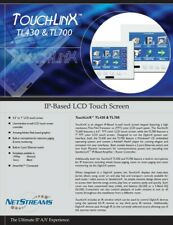 """NetStreams TouchLinX Tl-700 7"""" Touchpanel for Home Automation and Control"""
