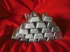 5 lbs wheel weight ingots hard lead sinkers bullets jigs molds lead ingots