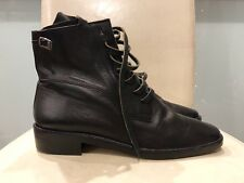 Anne klein all Leather Black Womens  Boots Size 9.5 New