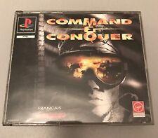 Jeux Ps1 Command Conquer Version Double Boite Pal Fr Envoi Gratuit 2 Disc