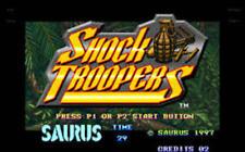 K7 SHOCK TROOPERS  neo geo mvs arcade