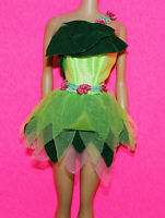 Dress/Outfit Only Peter Pan TINKERBELL  Motion Picture Event Doll Applause 2003