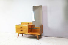 1960's mid century G Plan E Gomme chest of drawers with tall mirror