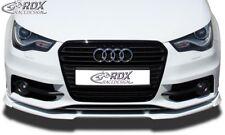 RDX Spoilerlippe für Audi S1 A1 8X Sportback 8XA S Line Front Schwert Splitter