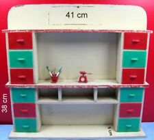 meuble de poupée marchande miniature, vintage