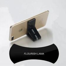 2Pcs Chic Flourish Lama Rubber Gel Sticker Pads Car Phone Magic Holder Stand