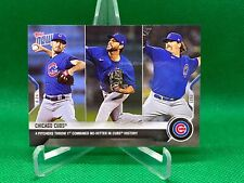 2021 Topps Now #409 CHICAGO CUBS NO HITTER 6/24 Davies Tepera Chafin Kimbrel 1st