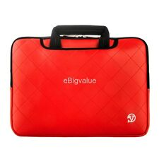 15.6 inch Laptop PU Leather Sleeve Bag Briefcase for HP Dell Lenovo ASUS Toshiba