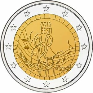 2 Euro Estonia 2019 * Estonian Song Festival * Unc