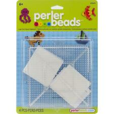 Perler Fuse Bead Funfusion 2 Large Clear Square Interlocking Pegboards 22613