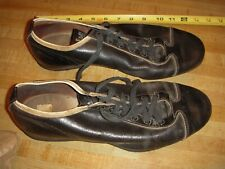 Vintage Leather WILSON Baseball Cleats metal spikes, little use 1950 or 60's USA
