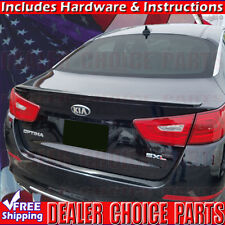 For 2014-2015 Kia Optima Factory Style Spoiler Lip Wing UNPAINTED ABS