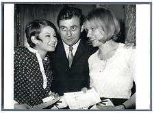 François Perrier, Jacqueline Fynnaert et Catherine Fournet  Vintage silver print