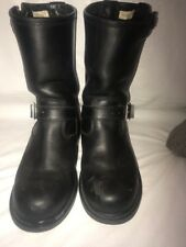 Hein Gericke Motorcycle Boots US 8  EU 40 Black Pre-owned  GOOD CONDITION