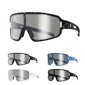 Photochromic Cycling Sport Glasses Mountain Bike Bicycle Sunglasses Eyewear MTB