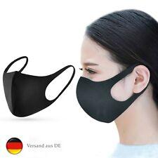 Mundschutz Maske Atemschutzmaske Gesichtsmaske Outdoor Schwarz