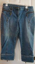 INC International Mid length Blue Jeans Size 8