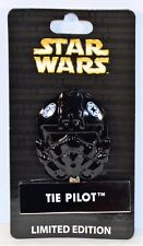 Disney Star Wars Pin Of Month Helment Mask Series Tie Pilot Hinged Pin LE 4000