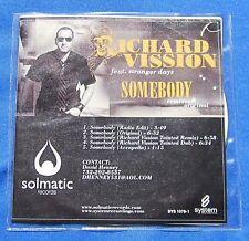 Richard Vission Stranger Days CD Promo 5 Mixes Original Tainted Remix Accapella