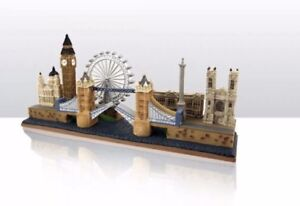 City Scene Figure Big Ben Tower Bridge London Wheel Eye London Souvenirs Gift