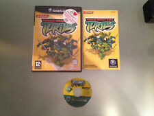 Teenage Mutant Ninja Turtles Gamecube Game Cube PAL ESPAÑOL