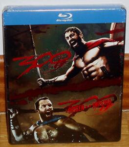 300 +300 the Origin Of Un Empire 2 Blu-Ray New [Steelbook] Action (No Open) R2