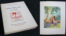 Le Livre pour Toi / M. Burnat-Provins / Édition Landru Illustrée de 1947