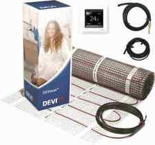 Elektrische Fußbodenheizung DEVI Komplett-Set 0,5m² bis 9m² 0,5