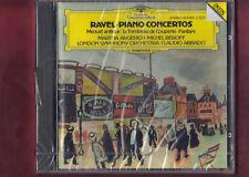 RAVEL-CONCERTO X PIANO(ARGERICH)FOR THE LEFT HAND(BEROFF) ABBADO CD NUOVO SIGILL