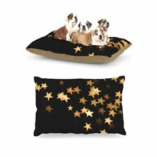 "Kess Skye Zambrana ""Twinkle"" Fleece Large Pet Dog Pillow Bed, 30 by 40-Inch"