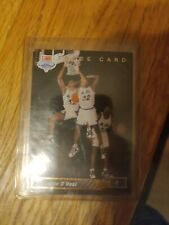 1992 Upper Deck Shaquille O'Neal #1B and Michael Jordan fleer 93 216 card
