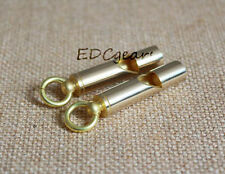 EDC Whistle High Pitch Solid Brass Retro Japan Style Fob Vintage Survival gear