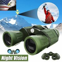 60x50 Zoom HD Military Army Powerful Binoculars Optics Hunting Camping Hiking