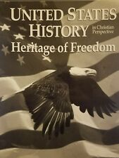 Abeka United States History Heritage of Freedom Test Key (2003 Paperback)