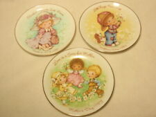 Lot of 3 Avon Mother's Day Decorative Plates: 1981 1982 1983
