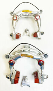 Vintage Schwinn Approved Center Pull Brake Calipers, Front & Rear, Alloy, Used
