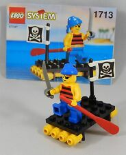 LEGO Pirates 1713 Shipwrecked Pirate Set 100% Complete Adult-Owned Set w/ Manual
