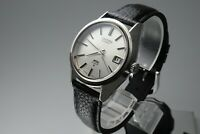 Vintage 1972 JAPAN KING SEIKO WEEKDATER 5625-7110 25Jewels Automatic.