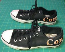 CONVERSE All Star Low Top Chuck Taylor Shoes Black Mens 7.5