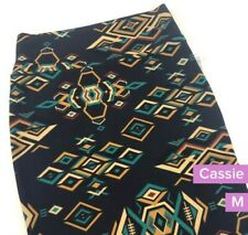 NWT LuLaRoe Cassie skirt Size M. Geometric print