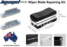 Aquapel Windshield Glass Screen Treatment x 2+Wiper Blade Repairing Restore Kit