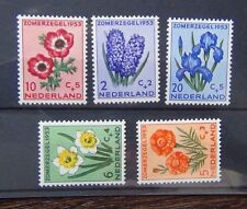 Netherlands 1953 Cultural and Social Relief Fund set LMM