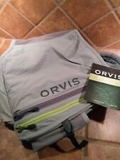 New! Orvis Ultralight Vest Low Profile Fly Fishing Anglers Utility. Nice!