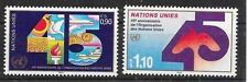 UNO-Genf/ 45 Jahre UNO MiNr 188/89 ** zur Nominale!