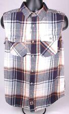 Legendary Whitetails Men's Woodsman Flannel Vest Shirt-MD