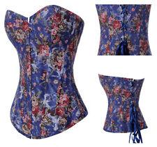 sexy corsetto bustino burlesque stringivita lingerie intimo da donna 6331