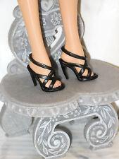 SHOES Barbie Tim Gunn Couture Designer Black High Heels Strappy Stylish Pumps!