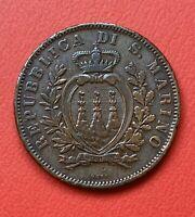 Monnaie Coin 10 Centesimi 1894 Italie Italia - San Marino 10 centesimi 1894 KM.2