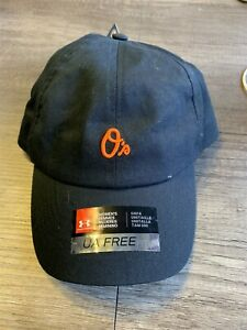 Baltimore Orioles MLB Under Armour Free Fit Heat Gear Woman's Adjustable Hat